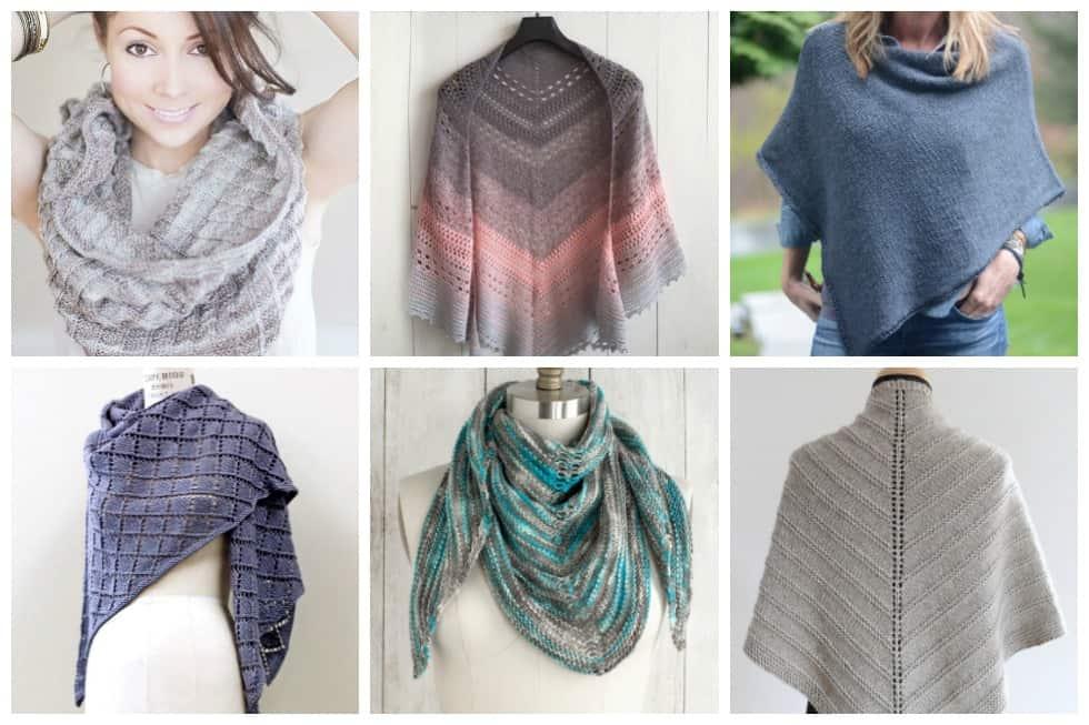 17 Free Shawl And Poncho Knitting Patterns