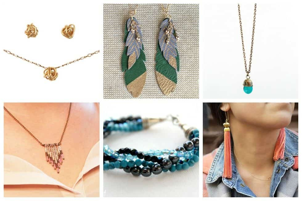 Although there are countless styles, materials, methods out there - there are easy beginner jewelry projects that you can try to ease you into this field.