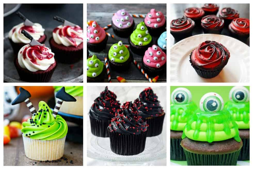 13 halloween cupcake decorating ideas that you 39 ll drool for Cupcake home decorations