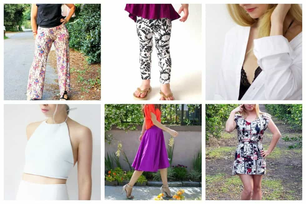 Since you're already learning, why not check out tutorials that will teach you to sew clothes, yourself!