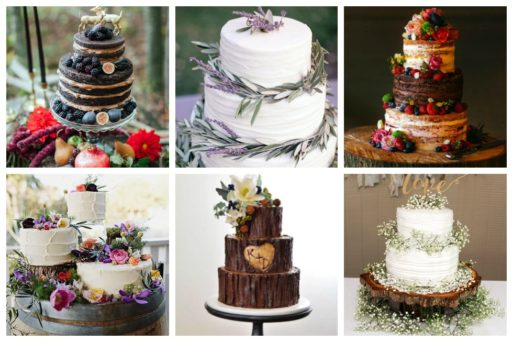 We've gathered the loveliest rustic wedding cake decorating ideas we can find.