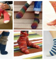 15 Crochet Socks You'll Want to Make This Fall