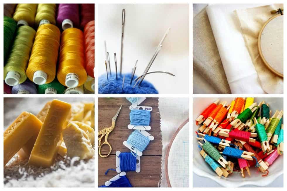 Must have hand embroidery supplies every embroiderer