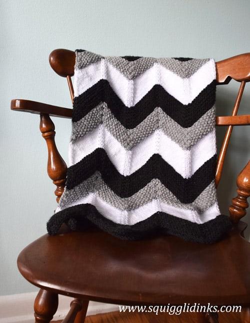 Himalaya - free baby blanket knitting patterns
