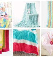26 Free Baby Blanket Knitting Patterns