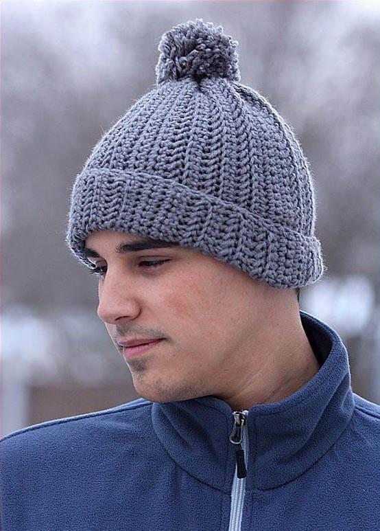 Yarntopia Mens Crochet Hat Pattern Ideal Me