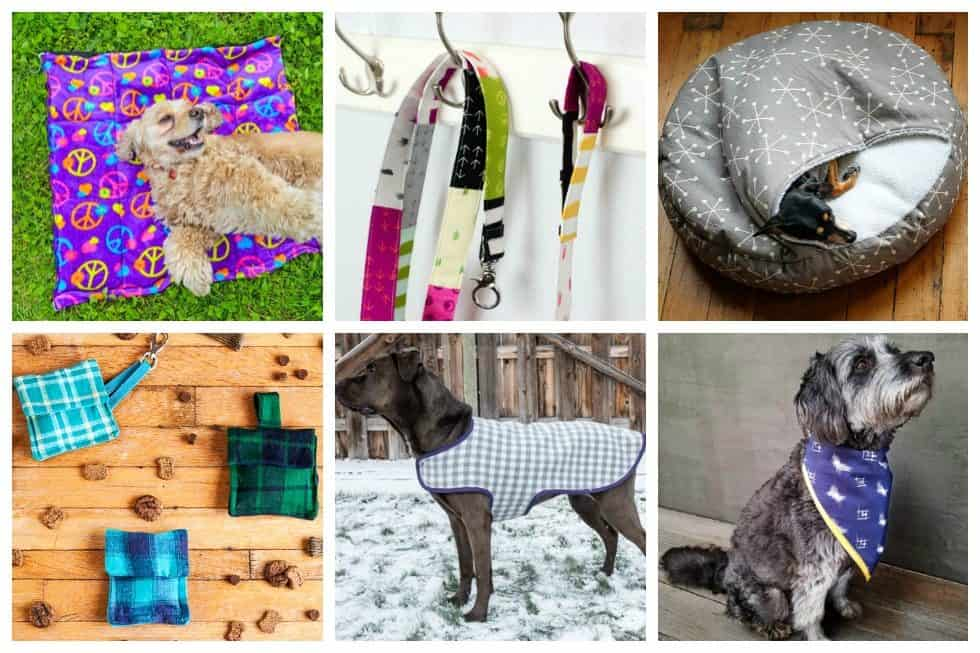 Here we have 12 things you can sew for your pets that they would absolutely look good in and/or find quite helpful.