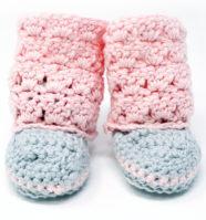 Primrose Baby Boots Crochet Pattern