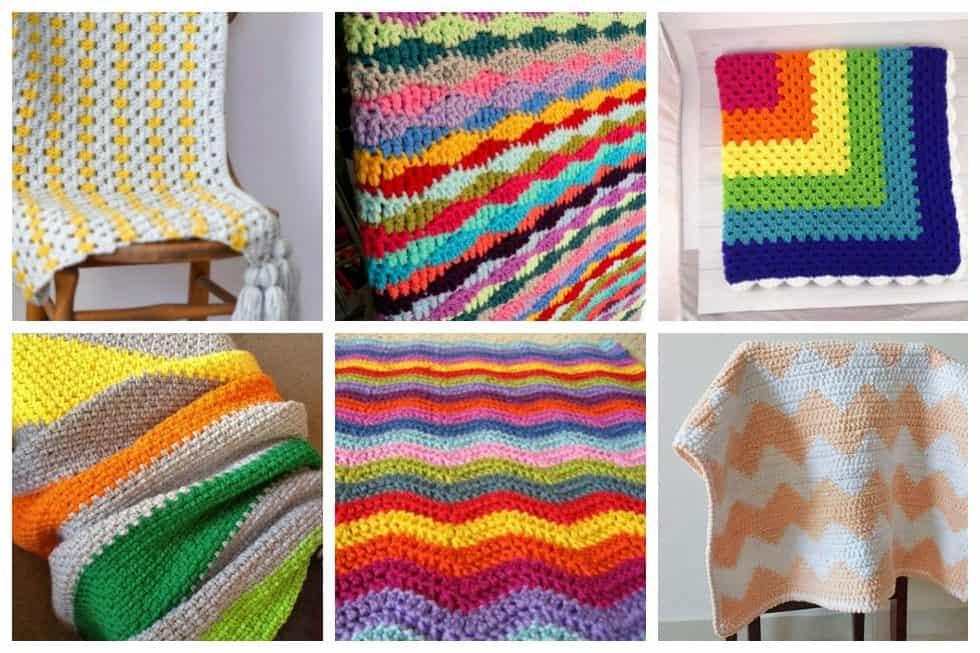 simple crochet patterns header