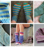 10 Simple Sock Knitting Patterns for Beginner Knitters