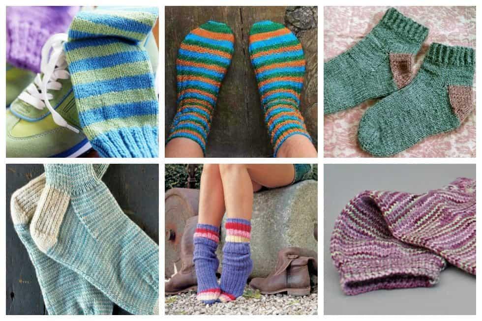 Header 10 Simple Sock Knitting Patterns for Beginner Knitters