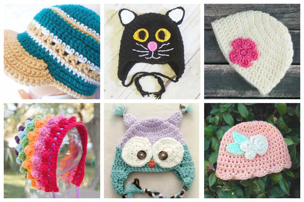9fefdfb5b 24 Adorable Free Crochet Baby Hat Patterns - Ideal Me