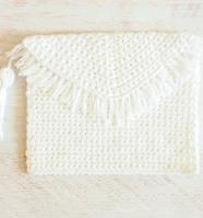 Fringe Clutch Crochet Pattern