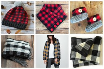 Plaid Themed Crochet Patterns