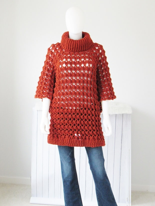 Elise Poncho - If you want to learn how to make a poncho, this list of 18 free crochet poncho patterns will help you. Pick your favorite from this bunch and start creating. #CrochetPonchoPatterns #FreeCrochetPatterns #CrochetAddict